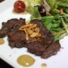 入道 - 料理写真:黒毛和牛ヒレステーキ