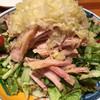 鍋家 - 料理写真:蒸し鶏のネギソース