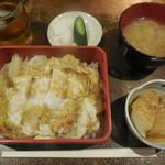 洋食 キムラヤ - カツ丼 ¥650-