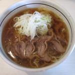 さわばた - 料理写真:肉中華・冷640円。               28.6.17