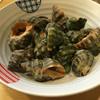 漁火 - 料理写真:にし貝の塩茹で