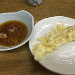 天ぷら 中山 - 普通の天ぷらも食べてみました。