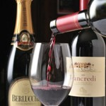 ORIENTAL KITCHEN ITALIANA - ドリンク写真:お料理に合ったワインをソムリエがご提案させて頂きます