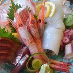 但馬かまどめし 気比の里 - 料理写真:津居山、香住魚の刺身盛り合わせ