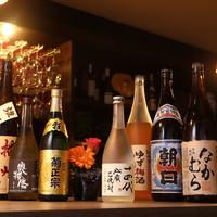 【日本酒、焼酎】にもこだわります!!