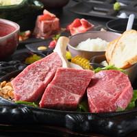 ■ステーキ3種食べ比べ''ペアランチコース''■2人でシェア!内容と金額は2名様分です。