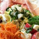 アレグロ コン ブリオ - 前菜の盛り合わせ アップ