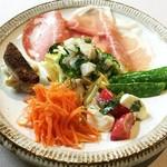 アレグロ コン ブリオ - 前菜の盛り合わせ