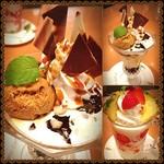 キャッツカフェ - 今日6月28日パフェの日って知ってます(•͈⌔•͈⑅)♡