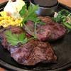 ワンカル食堂 - 料理写真:ハラミステーキ(180g)d( ̄、  ̄)¥1220円