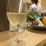 てんぷら・松 - 白ワイン