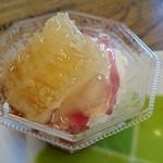 おきなわ養蜂 - ブルーベリーアイスクリーム(480円)