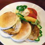 珈琲館 くすの樹 - ローストポークサンドイッチ