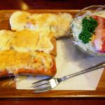 珈琲館 くすの樹 - ピザトースト