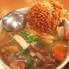薊丘 - 料理写真:おこげと五目煮