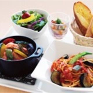【PLATELUNCH】パスタ&ダッチオーブンを一度に愉しむ