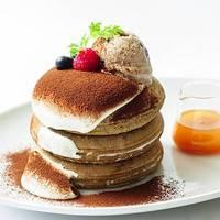 ●ティラティス・パンケーキ ~豆乳ティラミスとエスプレッソクッキーアイス添え~(7/1~期間限定)