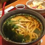さとすし半 - ランパス阪神版5ワンコインランチ… 選べる麺はうどんもあります( ´ ▽ ` )ノ