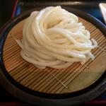北乃家 - 料理写真:ざるうどん( ´・皿・` )280円