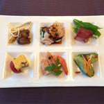 中国料理 桂林 - 前菜6種盛り合わせ