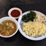 九州ラーメン 桜島 - つけ麺(正油)500円