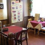 レストラン ナカタ - テーブル席