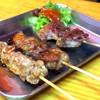 肉の店 鳥吉 - 料理写真:串焼き各種¥90