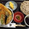 築地藪そば - 料理写真:ランチ天丼セット