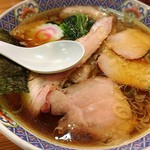 賀乃屋 - 焼豚メン 880円