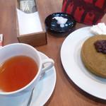 ほそつじいへえ TEA HOUSE - パンケーキと紅茶