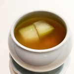 52900680 - 冬瓜と木の芽のスープ