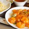 桂林 - 料理写真:蝦チリ、炒飯セット (¥1,100)