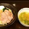 らーめん紬麦 - 料理写真:塩つけ麺+だし味玉 950円