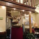 文明堂茶館 ル・カフェ - 螺旋階段