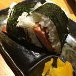沖縄料理しーさ - 料理写真:ポークおむすび