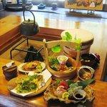 田舎茶屋 千恵 - お昼のおまかせ4,700円膳