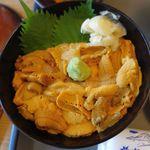 海鮮処 かふか - ウニ丼,海鮮処かふか,香深,礼文島,食彩品館.jp撮影