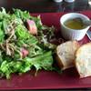 服部珈琲工房 - 料理写真:旬の野菜のサラダのセット   BREAKFASTメニュー