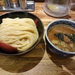三田製麺所 - つけ麺(中)730円