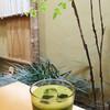 田頭茶舗 - ドリンク写真:カフェが多い広島市で、こちらは和と抹茶をモチーフとした少数派の存在。 でも、後から、私が住む福岡市にも2軒の支店があることが分かりました(笑)。