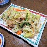 亀善 - 野菜炒め2016.06.27