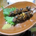 亀善 - 鰻肝焼き2016.06.27