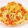 ミア・アンジェラ - 料理写真:北海道産塩水ウニとイクラの冷製スパゲティ