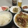 金門 - 料理写真:サービス定食の油淋鶏¥800 そして大瓶ビール¥650