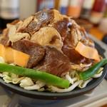 海鮮バル うおのすけ - 料理写真:ジンギスカン定食