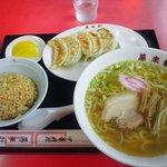 中華料理 萬来軒 - ラーメンセット
