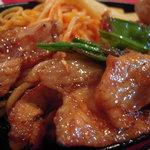 洋食 羽柴 - ポークロース生姜焼