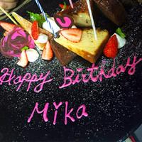 当日予約OK♪~記念日♥誕生日のケーキプレート~