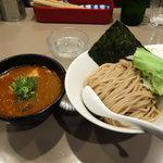 五ノ神製作所 - エビ 肉 と 玉子入り つけ麺1100円