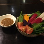 満味 - ★6やんばる野菜のスパイシー肉みそディップ